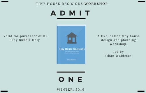 TinyHouseDecisionsWorkshop