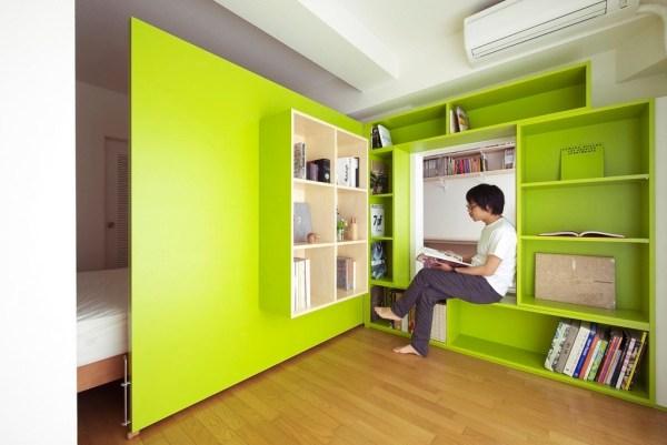 Tokyo Switch Office Apartment by Yuko Shibata 006
