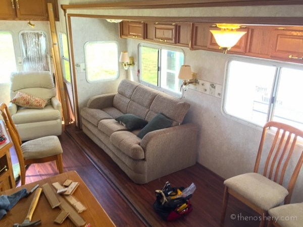 Trailer to Tiny Home Conversion 001a