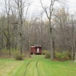 Train Caboose Hunting Cabin in NY 008