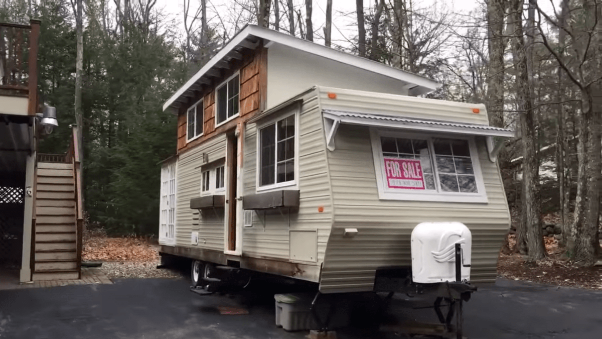 Prowler Travel Trailer with Built-On Loft Addition