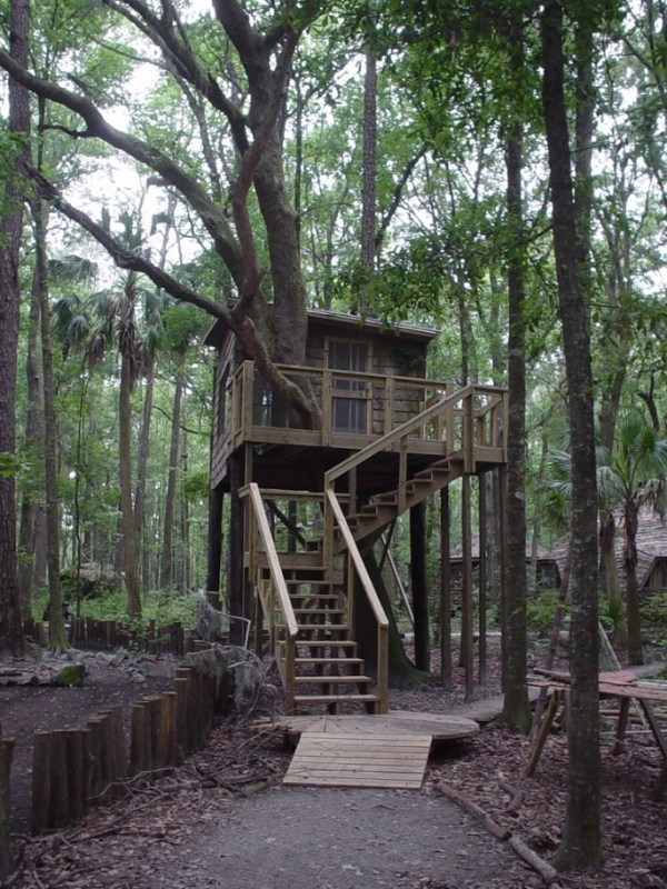 Tree Houses at Hostel Forest in Brunswick Georgia 001