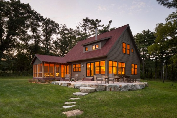 Trout Fishing Cabin by Dale Mulfinger of SALA Architects 0015