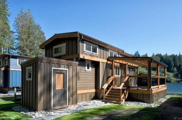 400 Sq. Ft. Park Model Tiny House With Addu0027l 250 Sq. Ft. Loft
