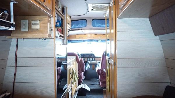 Van Interior 2 - Derrick and Paula - Exploring Alternatives
