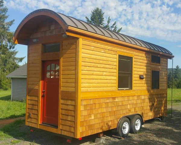 Vardo Style Tiny House on Wheels For Sale 001