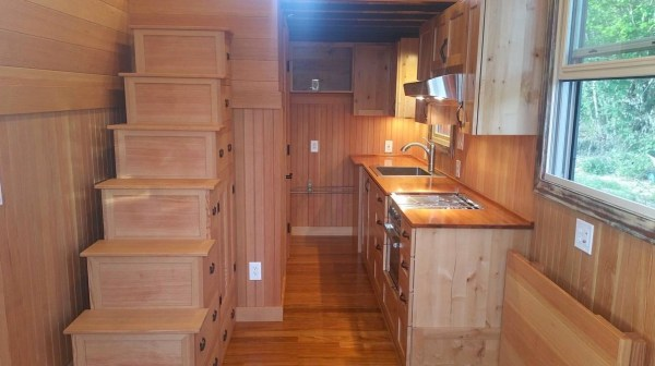 Vardo Style Tiny House on Wheels For Sale 002