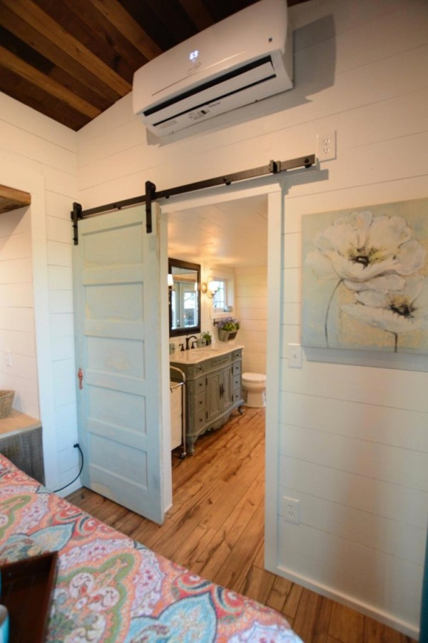 Tiny House Appliances >> Vintage Retreat Tiny House with Two Slide Outs Built on a ...