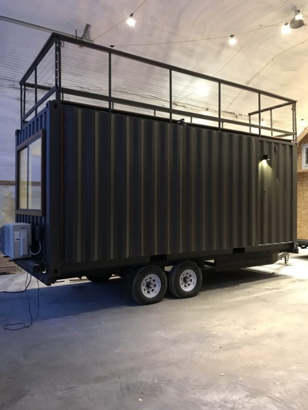 20ft Shipping Container >> Vista C Shipping Container Tiny House from ESCAPE