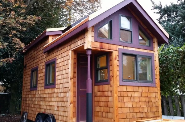 Woman Designs-Builds her own Pocket Mansion Tiny House 001