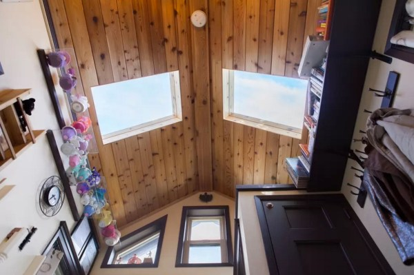 Woman Designs-Builds her own Pocket Mansion Tiny House 0011