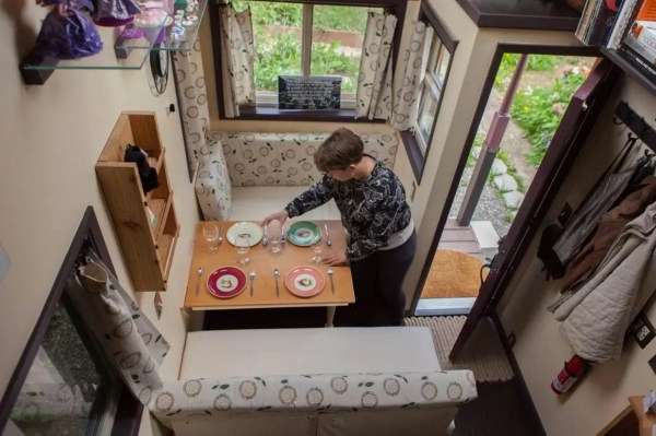 Woman Designs-Builds her own Pocket Mansion Tiny House 004