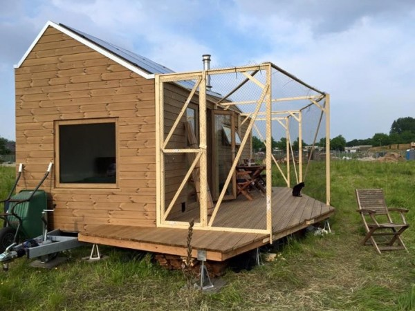 Womans Legal Tiny House in the Netherlands 005