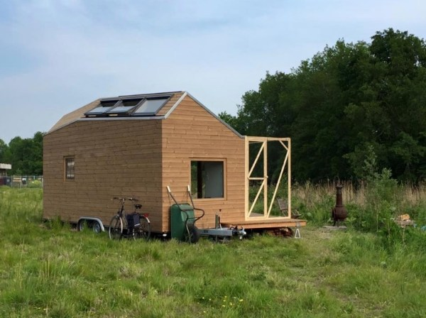 Womans Legal Tiny House in the Netherlands 006