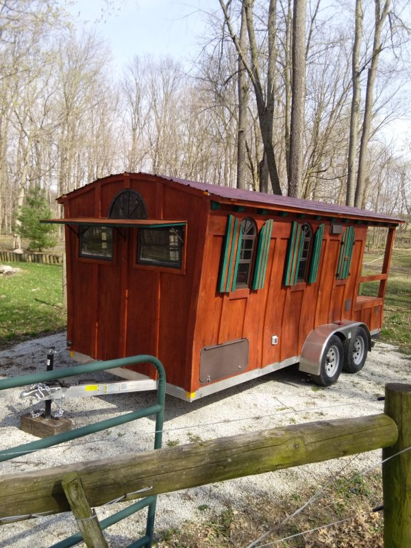 16 Ft. Gypsy Wagon Woolywagon Tiny House For Sale!