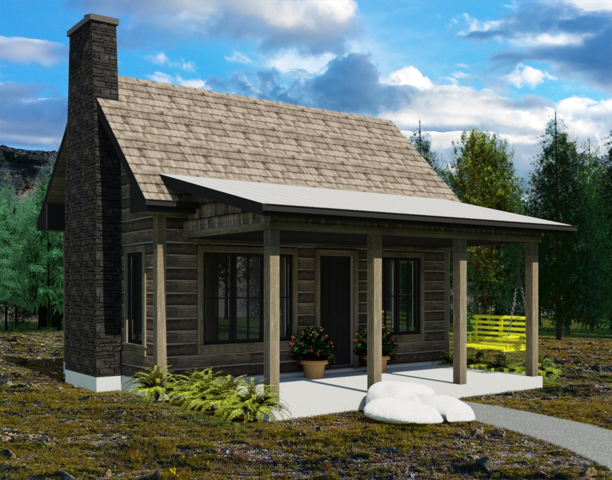 Yukon Small House Plans Robinson Residential - Get Small House Design Canada  Gif