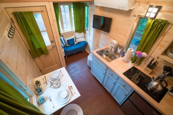 Zoe Cypress 20 Tiny House at Mt Hood Tiny House Village via TinyHouseTalk-com 005
