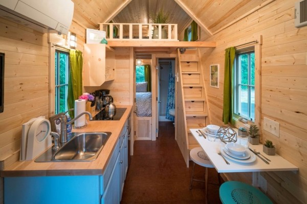 Zoe Cypress 20 Tiny House at Mt Hood Tiny House Village via TinyHouseTalk-com 006
