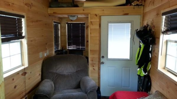 Alan's 8x24 Tiny House For Sale