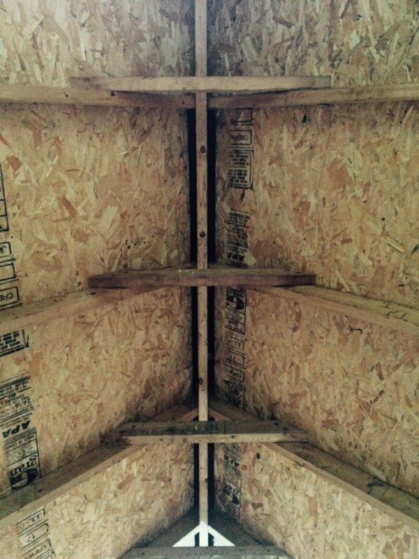 view inside playhouse