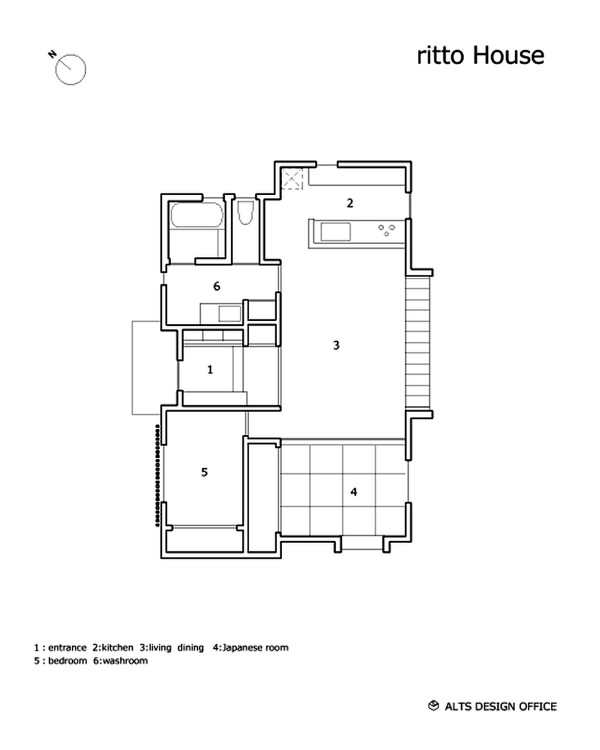 Minimalist 778 Sq. Ft. Japanese Family Small House