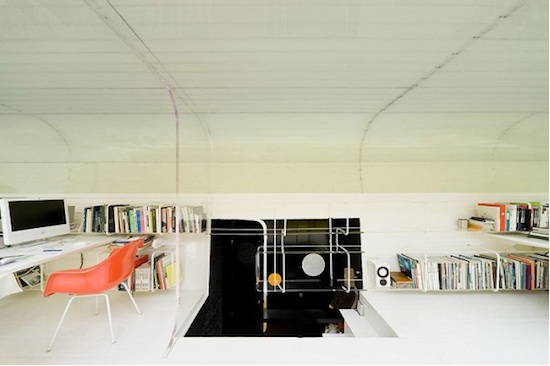 Interior of awesome office