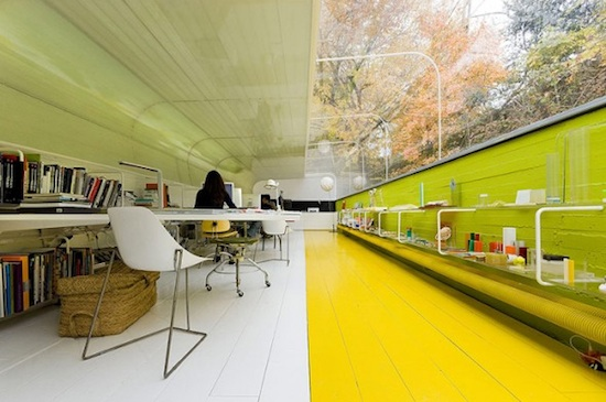 Nature office inside