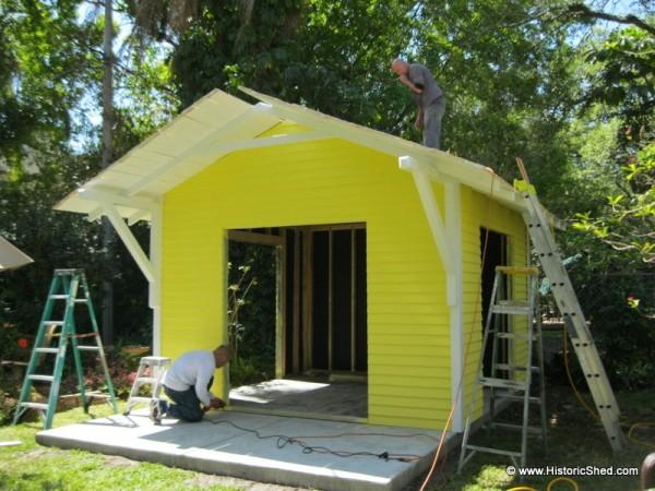 144 Sq Ft Backyard Shed Art Studio
