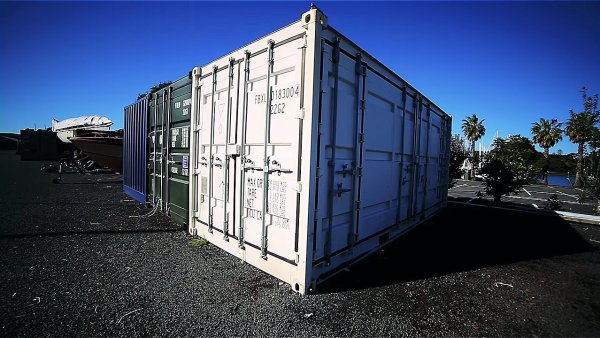 boat builders 20 ft shipping container tiny house 001 via Living Big in a Tiny House 001