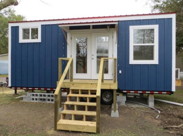 exterior of tiny house