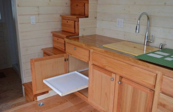 cabinets inside small space