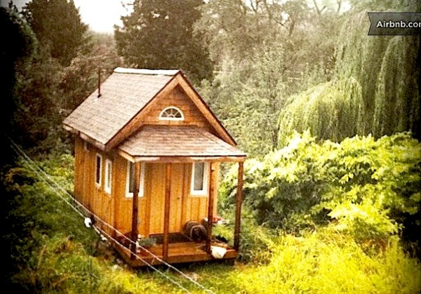 Tiny House You Can Rent in Nelson, BC Canada