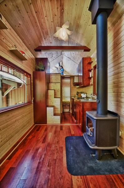 Candice's Tiny Tack House: Interior Photos: Modified Tumbleweed Fencl: Photos by Chris Tack (2)