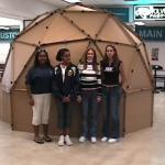 cardboard-dome-project