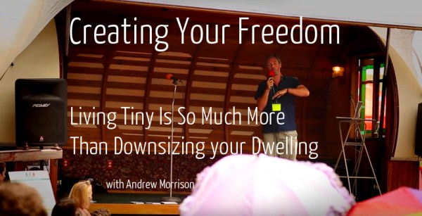 creating your freedom speech with Andrew Morrison