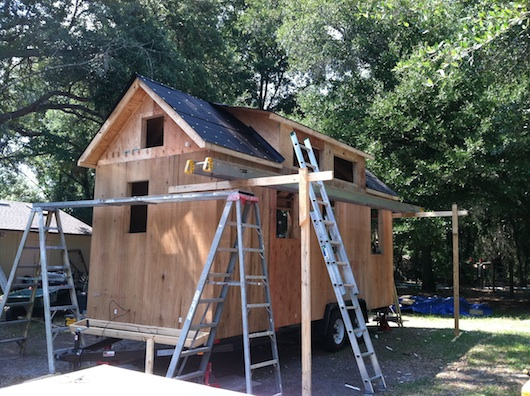 Dan's Tiny House on a Trailer Project Part 2