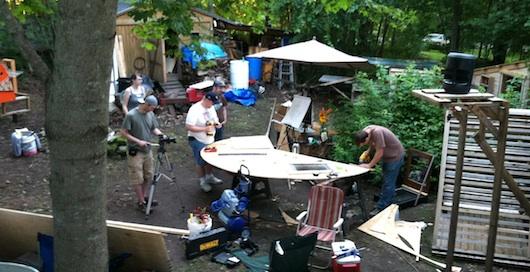 Deek's RelaxShacks Micro Cabin Slash Tiny House Workshop