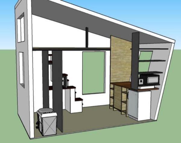 denise eissler 8x12 tiny house design 005 - 8x12 Tiny House On Wheels Plans