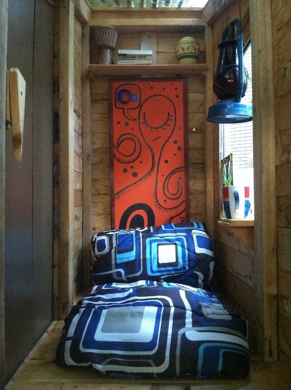 Derek DEEK Diedricksen of RelaxShacks Micro Shelters and Tiny Houses