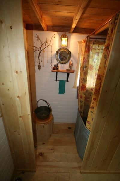 Ella's Tumbleweed Tiny House Bathroom and Pink Room (2)
