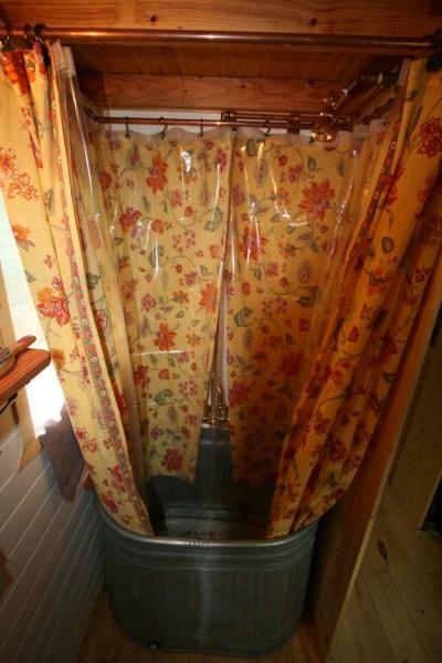 Ella's Tumbleweed Tiny House Bathroom and Pink Room (3)