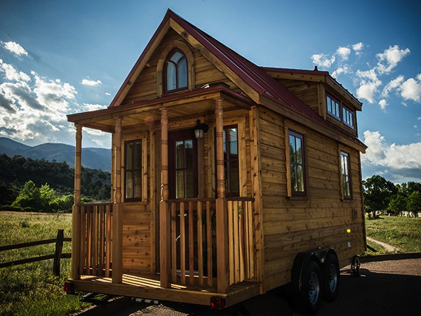 Etonnant The Elm Tiny House (What Your Finished Tumbleweed House Could Look Like)