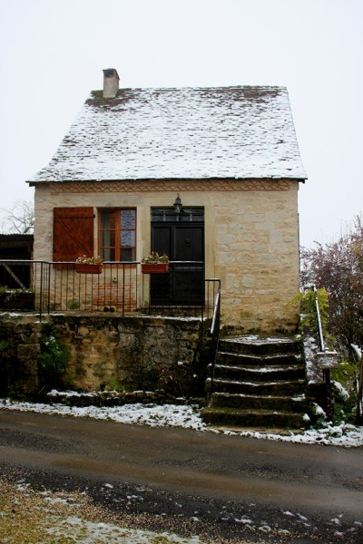 Tiny Home Designs: Family Uses 17th Century Tiny Stone Cottage In France For