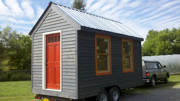 Emmanuelle LeBlanc Tiny House for Sale in NY