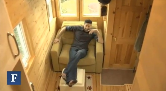 Engineer Lives in a Tiny House on a Trailer