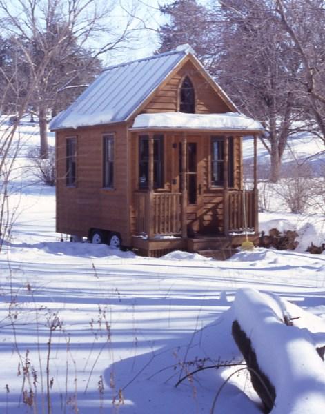 Photo By Jack Journey Copyright Tumblweed Tiny House Company 2008