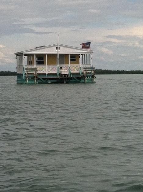 Floating Cottage in Estero Bay