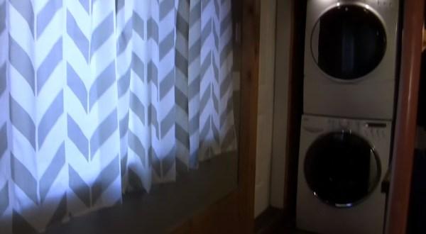 Big Window and Washer Dryer