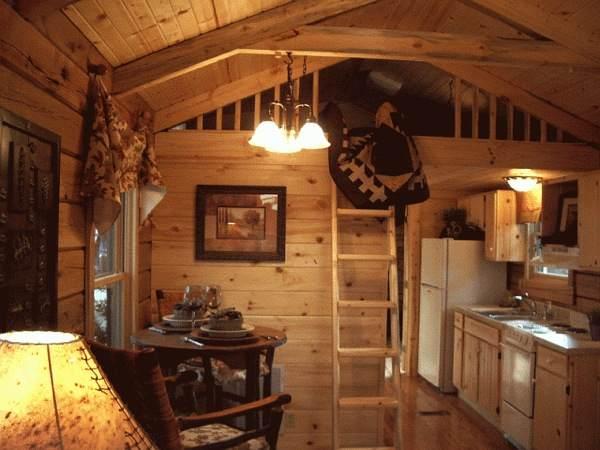 Superieur Gastineau Oak Log Cabins To Go On Wheels