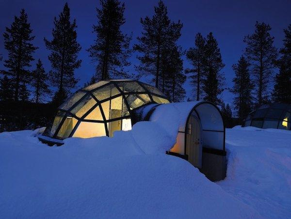 Glass Igloo Tiny House Hotel